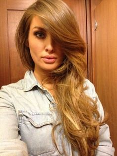 #12 golden brown hair extensions