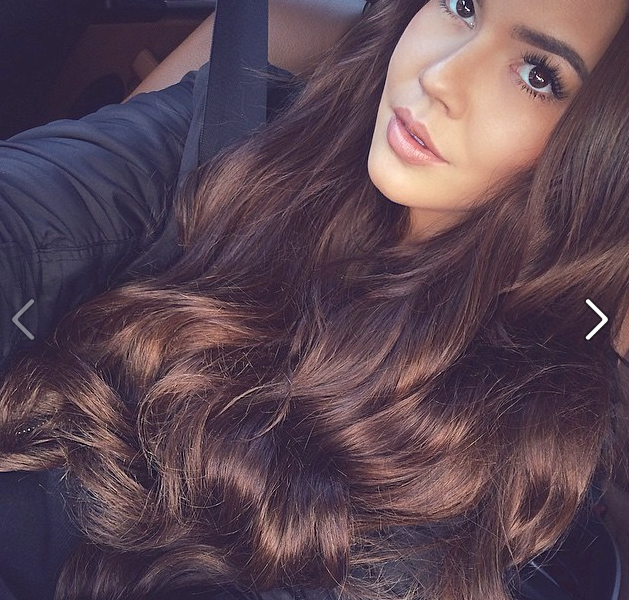 4 medium brown hair extensions and wigs cheap human