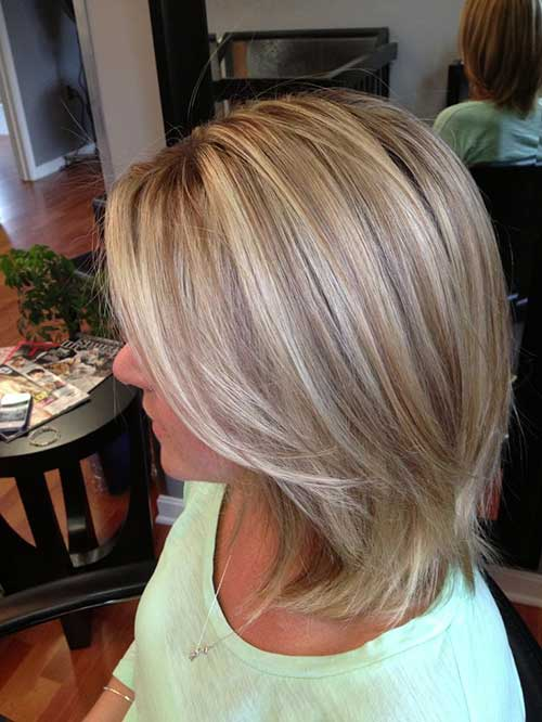 ash blonde with highlights and lowlights short hair