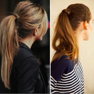 Simple-High-Ponytail