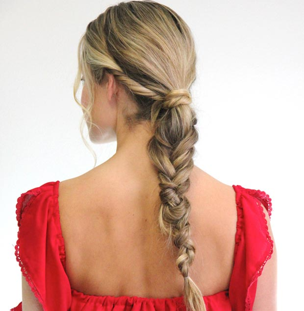 Chunky-Low-Fishtail-Ponytail