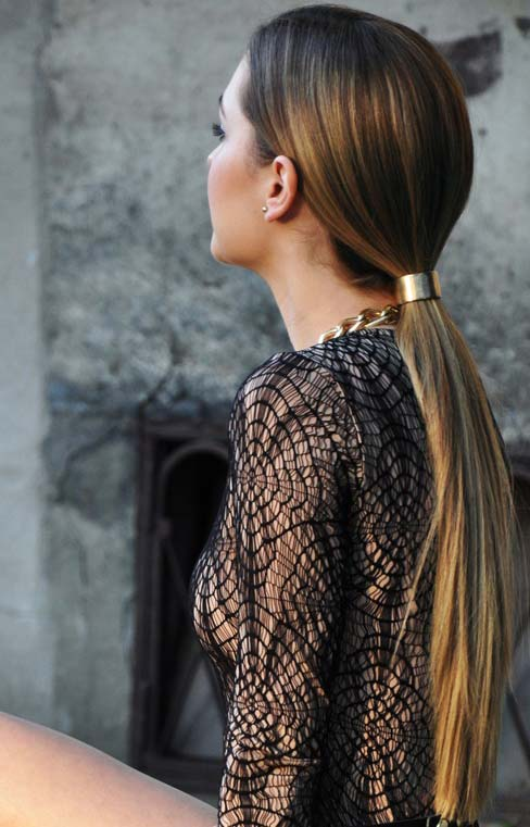 Sleek-Low-Ponytail