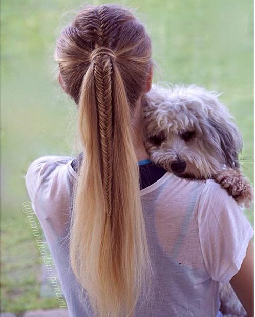 Fishtail-Braid-into-a-Ponytail