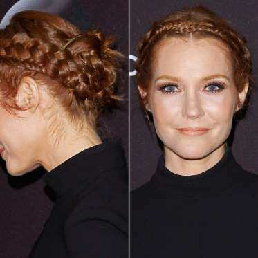 11. Darby Stanchfield's Intricate Plaits