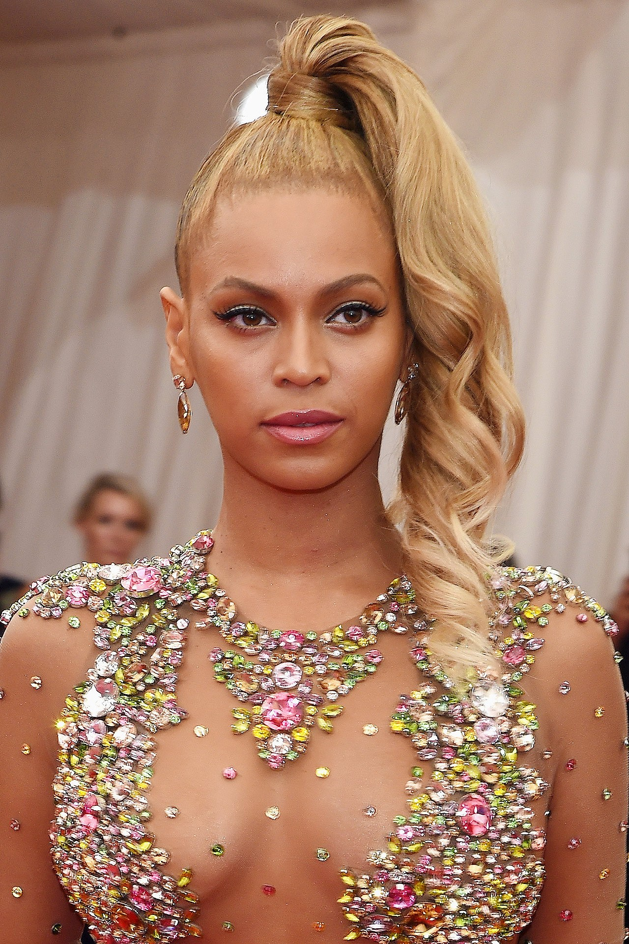 4. Beyonce's High Ponytail