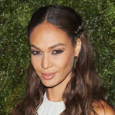 5. Joan Smalls' Braided Half-Updo