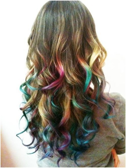 Colorful-Ombre-Hair