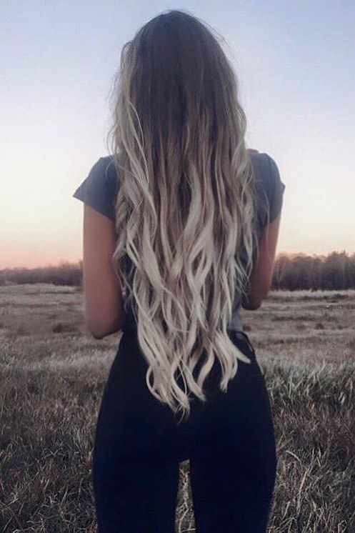 Ombre Cheap Human Hair Extensions Ombre Clip In Hair