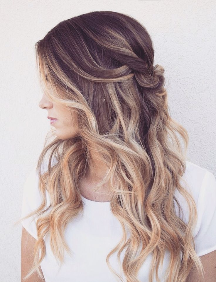 blonde ombre hair look