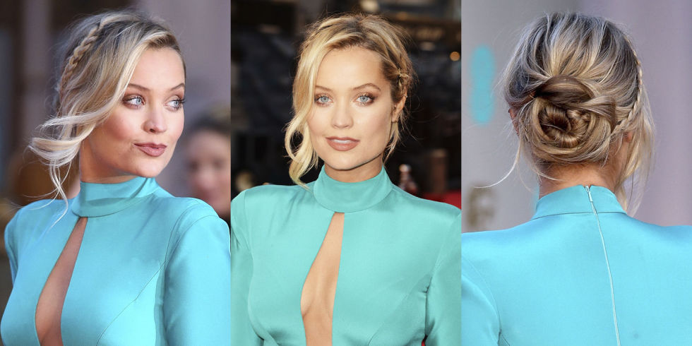 Laura Whitmore braids 2016